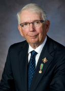 Honourable h. Frank Lewis, Chancellor of the Order of Prince Edward Island