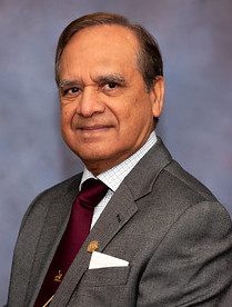 An image of Dr. Najmul H. Chishti, 2019 recipient of the Medal of Merit